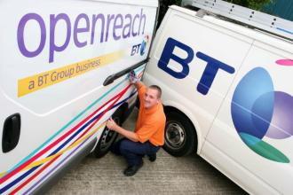 Openreach Pulls a G.fast One with Huawei and Nokia