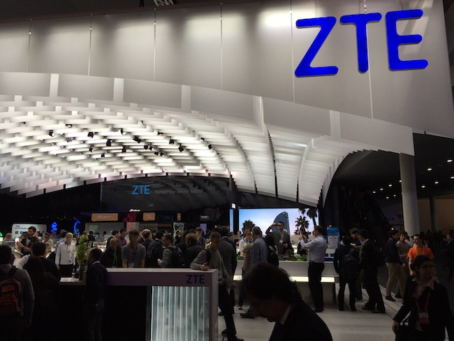 ZTE Cautions on Financial Impact of US Trade Woes