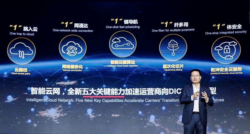 Huawei's New Capabilities of the Intelligent Cloud Network Solution Accelerate Carriers' Transformation to DICT Services