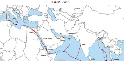 SEA-ME-WE 5 Completes Subsea Cable System