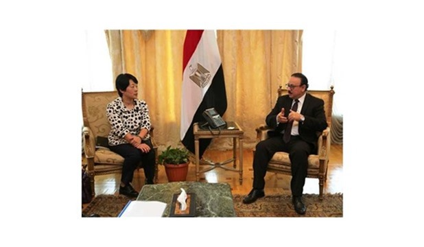 IT Minister of Egypt Meets Joint Delegation of Chinese YOFC, Huawei